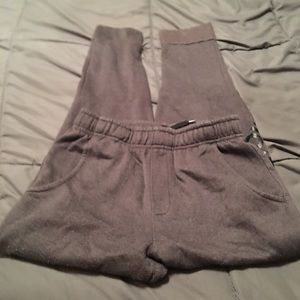 Girls Adidas size medium fleece jogging pants